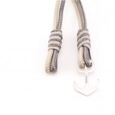 Nautical bracelet sterling silver anchor CNA 509