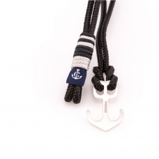 Nautical bracelet sterling silver anchor CNA 510